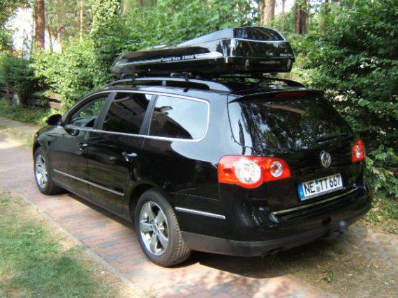 Dachbox Moby Dick SL Premium  Fiberglas GFK, 550 Liter, Tragkraft 95 kg - Die orginal box2000 nur von © surfbox.de