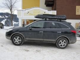 Hyundai Foto's van dakkoffers Big-Malibu XL Surf met surfplankhouder