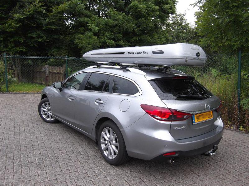 Mazda SLB Kundenbilder Big-Malibu XL SURF inkl. Surfbretthalter