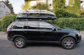 Slb Foto's van dakkoffers Big-Malibu XL Surf met surfplankhouder