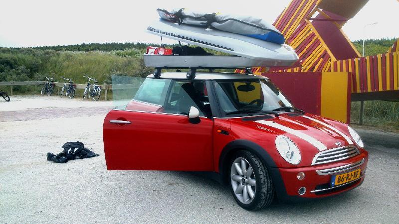 Mini Cooper Kundenbilder Big-Malibu XL SURF inkl. Surfbretthalter