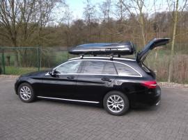 DSCF  Dachboxen Mercedes Benz