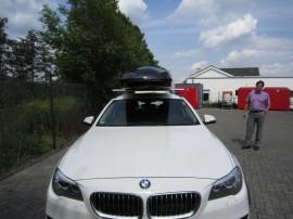 BMW Big Malibu Dachboxen