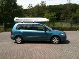 Kombi Surfbox Mazda Cámaras de techo Vagoneta