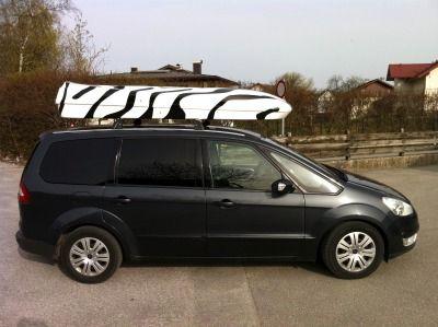 Dachbox von Mobila auf Transporter   Caddy  Van Bus - © surfbox.de