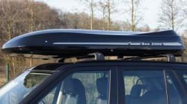 Range Rover box sul tetto
