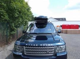 Range Rover Big Malibu box sul tetto
