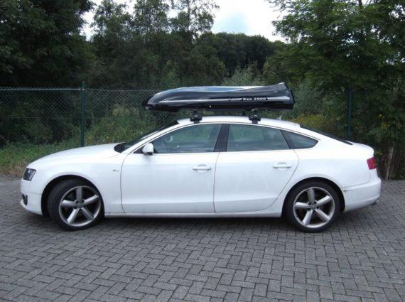 Dachbox von Mobila auf   audi a5 moby dick  - © surfbox.de