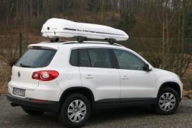Moby Dick Weiss Tiguan  Dachboxen SUV