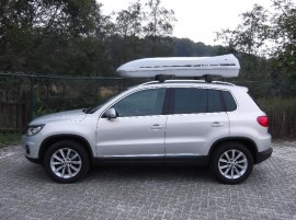 Tiguan Beluga Xxl  ROOF BOXES VW