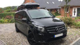 Mercedes Vito  Dachboxen Mercedes Benz Jumbo XL  – größte Dachbox nur von Mobila mit 1500L Volumen