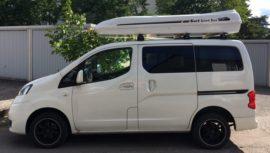 Nissan NV Dachbox Nissan Box da tetto  Jumbo – il  grande box per il tetto solo fatta da Mobila