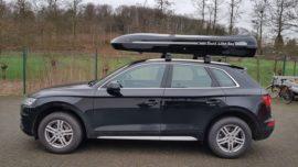 Audi Q5 Dachboxen Audi Jumbo – große Premium Dachbox mit 1300L Volumen