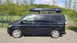 VW T6 Dachbox VW Jumbo XL  – größte Dachbox nur von Mobila mit 1500L Volumen