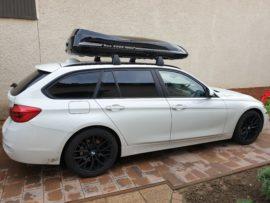 """BMW Bmw  Dachboxen BMW Box da tetto Beluga """"Golf e Kite"""" vantaggio attraverso la qualità"""